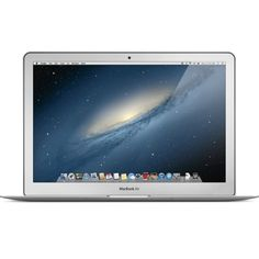 Apple MacBook Air MD760LL/A Notebook Computer 13-in Display 1.3GHz Intel i5 Processor 128GB Harddrive