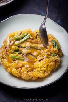 Shrimp Egg Foo Young – China Sichuan Food