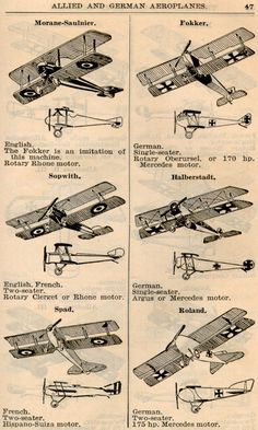 WWI Airplanes (2)