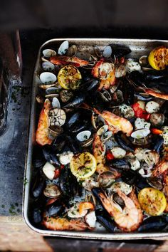wood-fired shellfish | Jamie Oliver | Food | Jamie Oliver (UK)