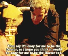 <b>Peter Capaldi spoke to a young girl with Autism during outdoor filming for <i>Doctor Who</i>.</b> This was the result.