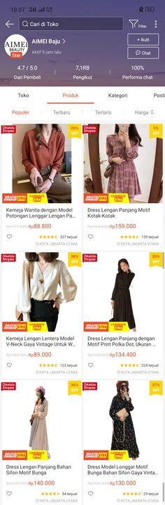 Best Online Clothing Stores, Online Shopping Sites, Shopping Hacks, Online Shopping Clothes, Online Shop Baju, Life Hacks Websites, Aesthetic Photo, Fashion Days, Ootd
