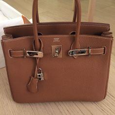 Perfect! Hermes Birkin, Birkin Bag, Birkin 30, Birkin Gold, Gold Birkin I love my bag :)