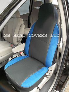 Bmw x1 / x5 / x6 car seat cvr- #anthracite + neon blue #bolsters-csc007,  View more on the LINK: 	http://www.zeppy.io/product/gb/2/390484434343/
