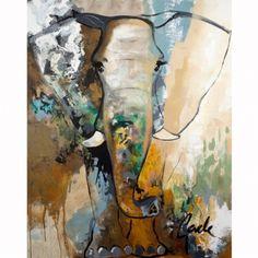 obraz Gade - Malerifabrikken - Elephant touch