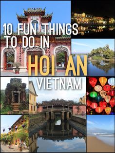 10 Fun Things to Do in Hoi An, Vietnam   Read More: http://mismatchedpassports.com/2016/03/10/fun-things-hoi-vietnam/  #travel #Vietnam