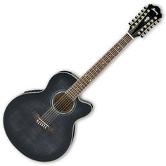 Acoustic Electric Guitars Diplomatic Ibanez Pf 15ece Acoustic/electric Guitar Transparent Blue Burst High Quality Goods Guitars & Basses
