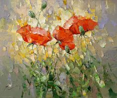 Poppies<br><i>(price request)</i> - Alexi Zaitsev - Sale of paintings and other art works