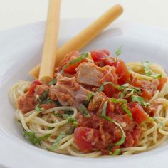 Tuna Pomodoro -I added some beans and it was even more amazing! Def a keeper!