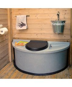 I like the hand wash that drains right into the diverted urine making it grey water I would have that run directly into a French drain Building An Outhouse, Outdoor Toilet, Camping Toilet, Airstream Remodel, Zen Space, Composting Toilet, Toilet Design, Cabin Design, Holiday Trailer