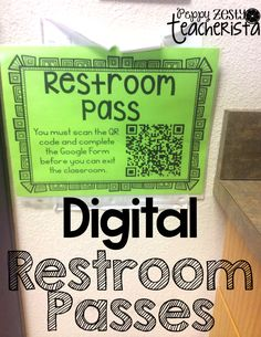 iTeach Third: Digital Restroom Passes