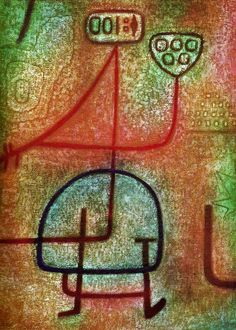 Paul Klee, La belle jardiniere