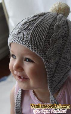 erkek bebek örgü şapkaları - Google Search