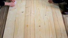vidéo DIY tete de lit en bois
