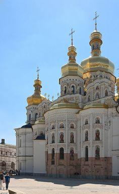 Dormition Cathedral, Kiev, Ukraine by Dmitry Shakin, via Flickr.