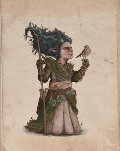 Gnome Druid, Josh Ketchen on ArtStation at https://www.artstation.com/artwork/241bA