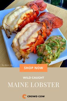 Grilling Recipes, Slow Cooker Recipes, Cooking Recipes, Healthy Recipes, Lobster Recipes, Seafood Recipes, Great Recipes, Dinner Recipes, Meat Delivery