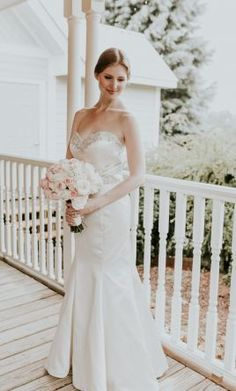 Lillian West Wedding Dress, Street Size 0: Buy this dress for a fraction of the salon price on PreOwnedWeddingDresses.com  Photo by Vic Bonvicini Photography (vicbonviciniphotography.com)