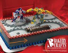 transformers cake -Alex's Birthday