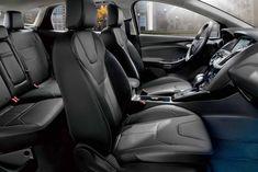 2018 Focus Titanium Leather Interior Ford Focus New Ford Focus