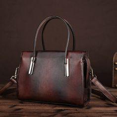 High-quality Women Genuine Leather Handbag Retro Cow Leather Crossbody Bag - NewChic Mobile