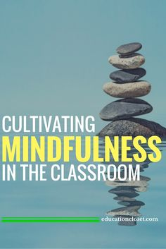 We all know of the positive impacts being mindful, and cultivating mindfulness can have on our lives, but the possibility of being used in the classroom. Mindfulness In Schools, Teaching Mindfulness, What Is Mindfulness, Mindfulness For Kids, Mindfulness Activities, Mindfulness Practice, Mindfulness Meditation, Reiki Meditation, Meditation Music