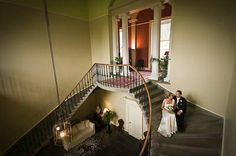 Chatting on the stairs – Wedderburn Castle