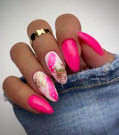 Cute Nails, Pretty Nails, My Nails, Nail Polish Designs, Nail Art Designs, Starbucks Nails, Nail Room, Makeup 101, Finger