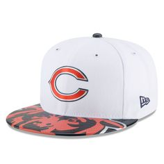 fd35c7f85b14 Chicago Bears New Era Youth 2017 NFL Draft Official On Stage 59FIFTY Fitted  Hat - White