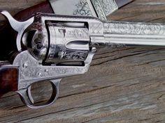 Colt-Single-Action-Revolver - old west Colt Single Action Army, Single Action Revolvers, Cowboy Action Shooting, Revolver Pistol, Colt 45, Cool Guns, Guns And Ammo, Old West, Shotgun