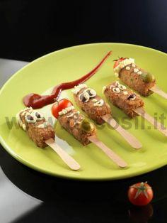 Stampi decoStik per creare fantastici finger food sia dolci che salati. Stampo acquistabile online su www.decosil.it #fingerfood
