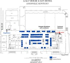 Exhibit floorplan titanic experience cobh queenstown for Trade show floor plan design