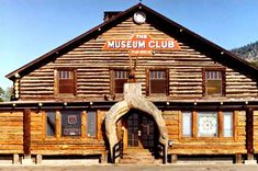 The Museum Club in Flagstaff, Arizona is not only a  Route 66 icon, but is said to be haunted!!