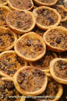 Butter tarts! I can't give out my recipe (family secret!) But this looks close enough to be pretty good! If you haven't had them- you need to. Christmas tradition in the Mavor house!