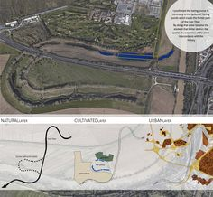 WEEK3 I positioned the rowing course in continuity to the system of fishing ponds which traces the former path of the river Tiber. By doing that water become the element that better defines the spatial characteristics of the place in accordance with the history
