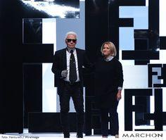"""Você sabia o designer alemão Karl Lagerfeld foi o responsável pela criação do logotipo da Fendi? Os duplos F invertidos são chamados de """"Zucca"""" quando são maiores e de """"Zucchino"""" quando são menores."""