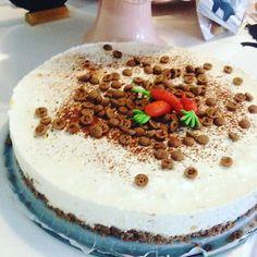 Heerlijke sinterklaas taart, Perzik Kwark taart met speculaas, gemaakt door Zoet! #Sint #Taart #Perzik #Kwark #Speculaas #Zoet #Theehuis #Tearoom #Lunchroom #Zeist