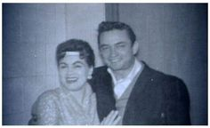 Patsy Cline with Johnny Cash