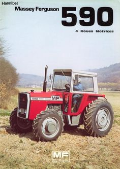 massey ferguson 590, That's an animal of a tractor.