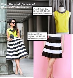 Shop the look for less at ObsessedToDress.com