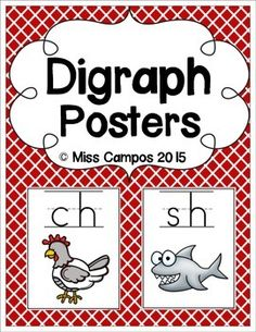 7 free Digraph Posters for : ch, sh, th, wh, ph, ee, ooI teach my Kindergarten students these digraph sounds during Spring Quarter and wanted some cute and colorful posters to laminate and display for kids to reference. Enjoy this freebie. Try these other Digraph resourcesSorting Sh PicturesSorting Ch PicturesSorting Th PicturesSorting Wh PicturesSorting Ph Pictures8 Digraph BooksDigraphs WorksheetsMega Digraphs Bundle