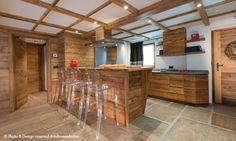 || Arte Rovere Antico - Photo by Duilio Beltramone for Sgsm.it || Casa Verde - La Thuile - Wood Interior Design