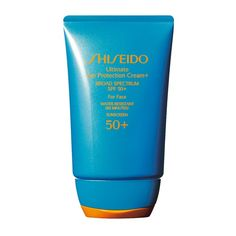 Rank & Style Top Ten Lists | Shiseido Ultimate Sun Protection Cream+ For Face,  SPF 50+ #rankandstyle