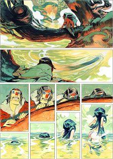 Cazadores de Comics: Nima, un interesante proyecto Spaceman Project