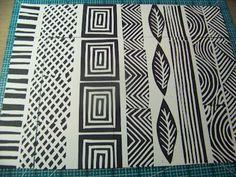ten thirty-six arts and crafts ... ellen vargo: Hand Carved Stamps
