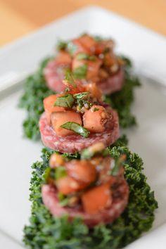 tomato brushetta 1 Paleo Bruschetta   Everyday Paleo Italian Cuisine--Civilized Caveman Cooking Creations
