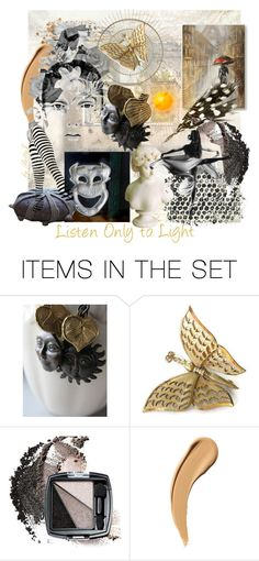 """Listen Only to Light"" by plumsandhoneyvintage ❤ liked on Polyvore featuring art"