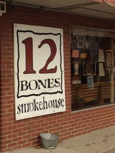 12 Bones Smokehouse in Asheville, NC
