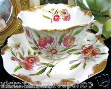 Hammersley Handpainted Antique Tea Cup and Saucer!