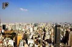 Vista de cima do banco Banespa.